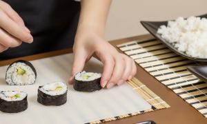 Мастер-класс по суши групповой
