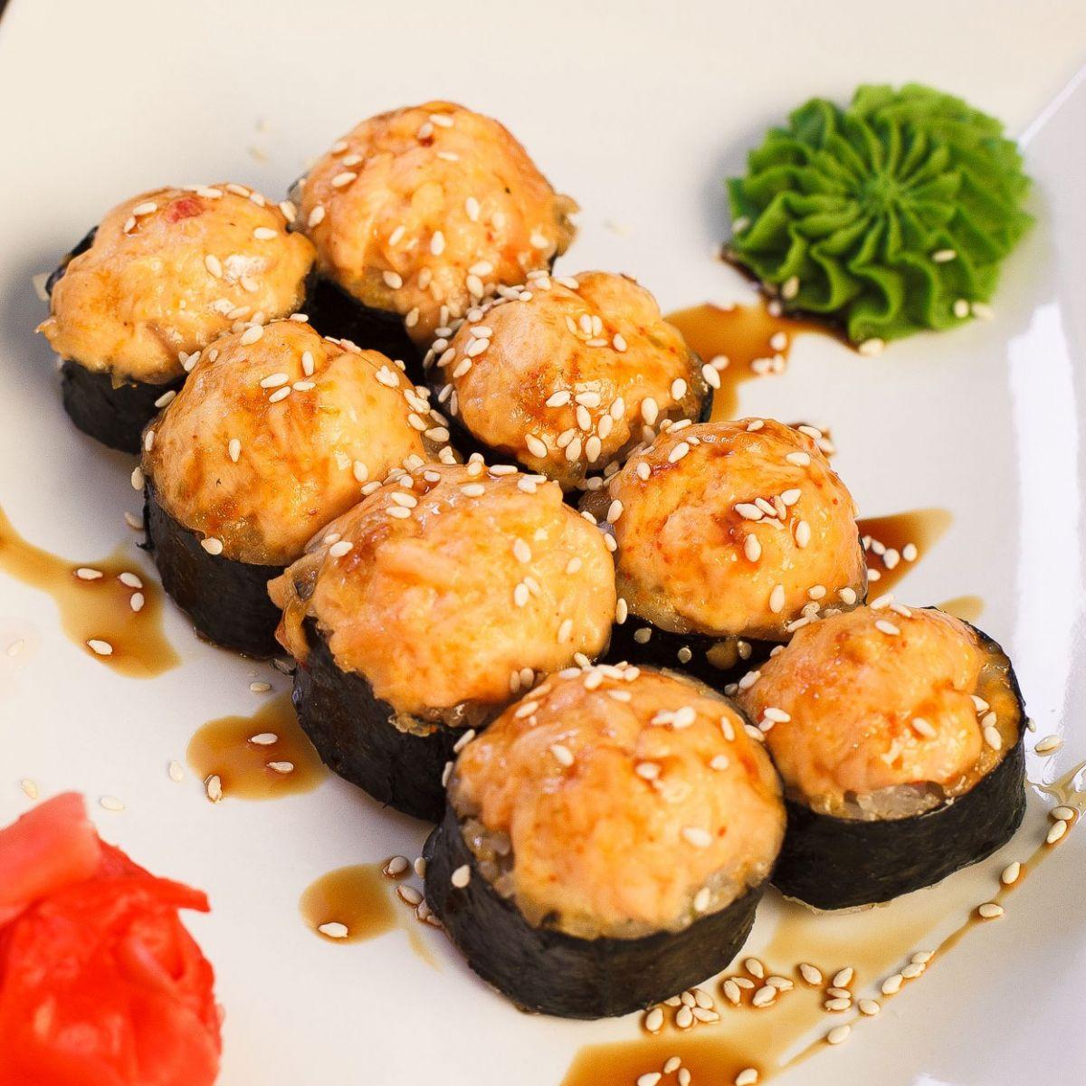 Как приготовить запечённые суши в домашних условиях 903